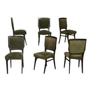 Six Italian Dining Chairs