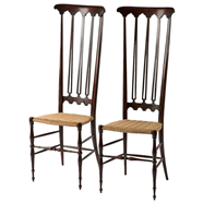 Pair Italian Chiavari Chairs