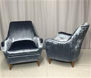 2 Restored Lounge Chairs