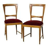 2 Paolo Buffa Dining Chairs