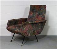 Italian Mid-Century Arm Chair